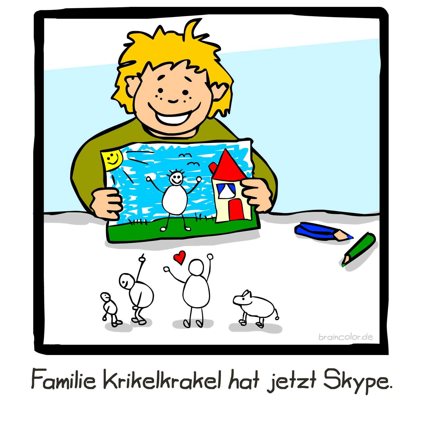 Familie Krikelkrakel