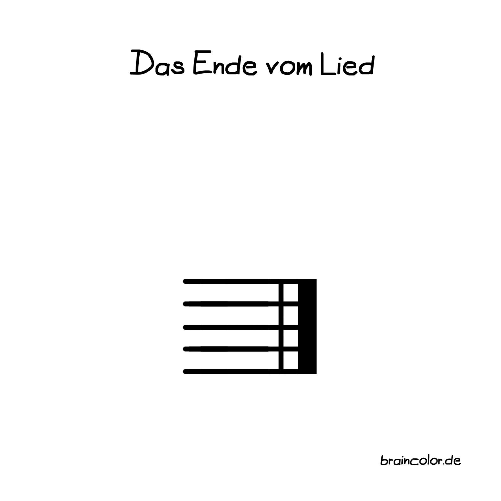 Das Ende vom Lied