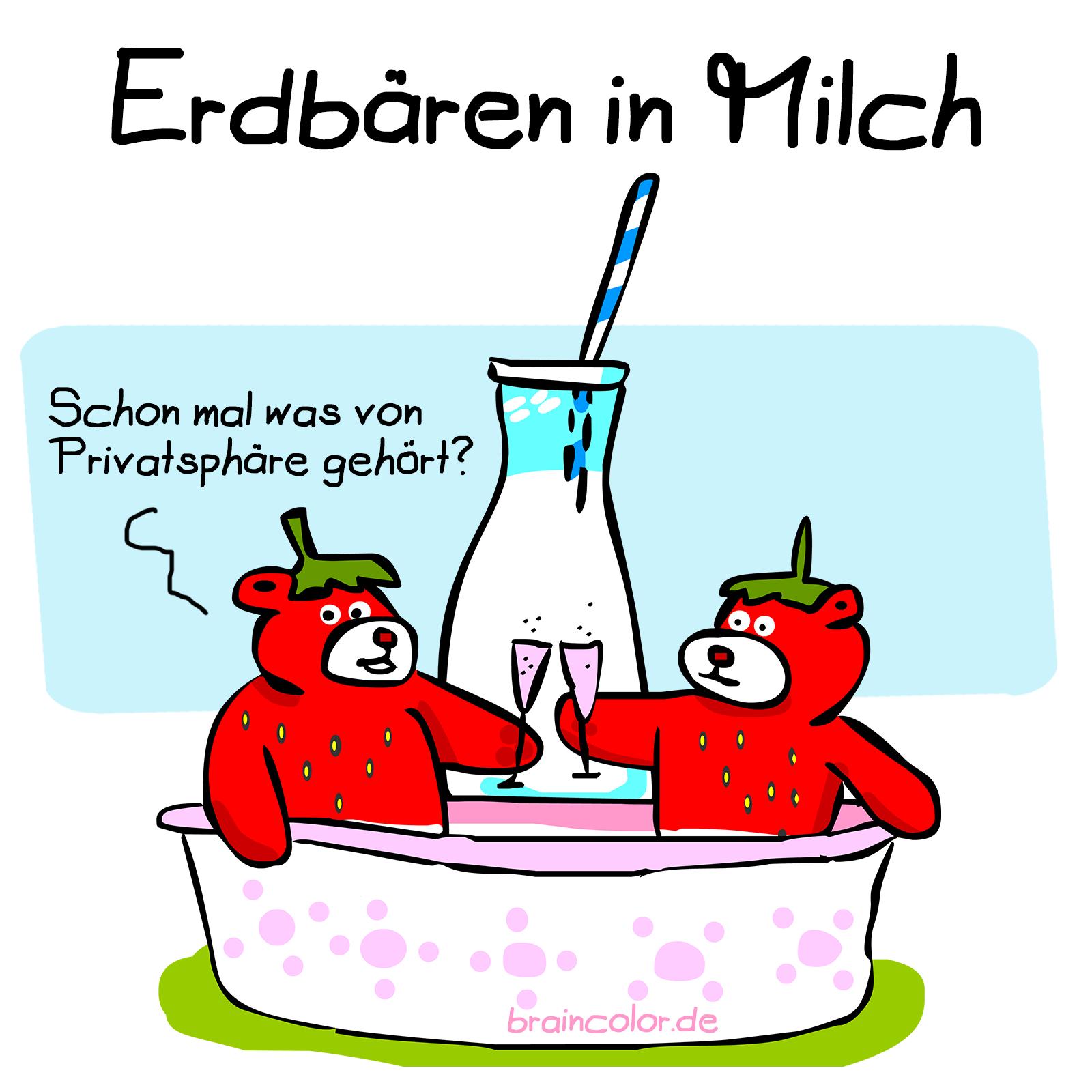 erdbeeren-milch