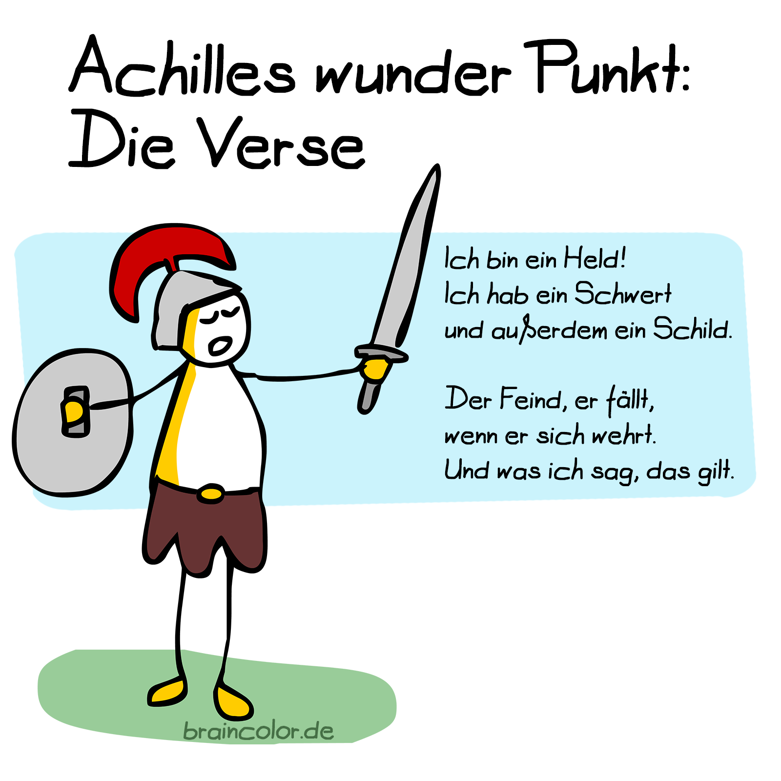Achilles Ferse #einbuchstabedaneben