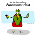 Superheld auseinanderhalten #einbuchstabedaneben