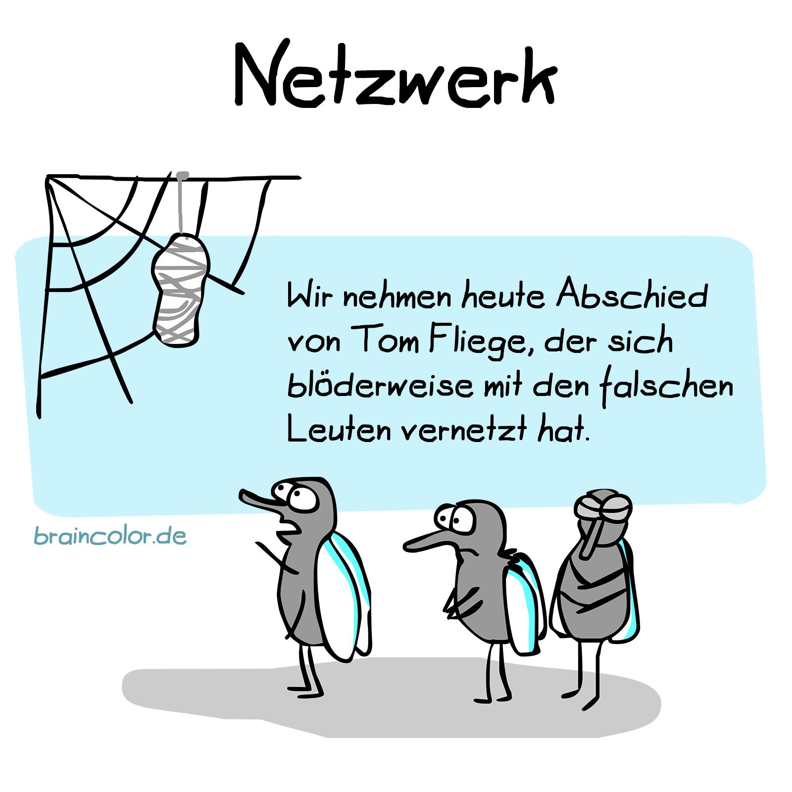 Netzwerk vernetzen