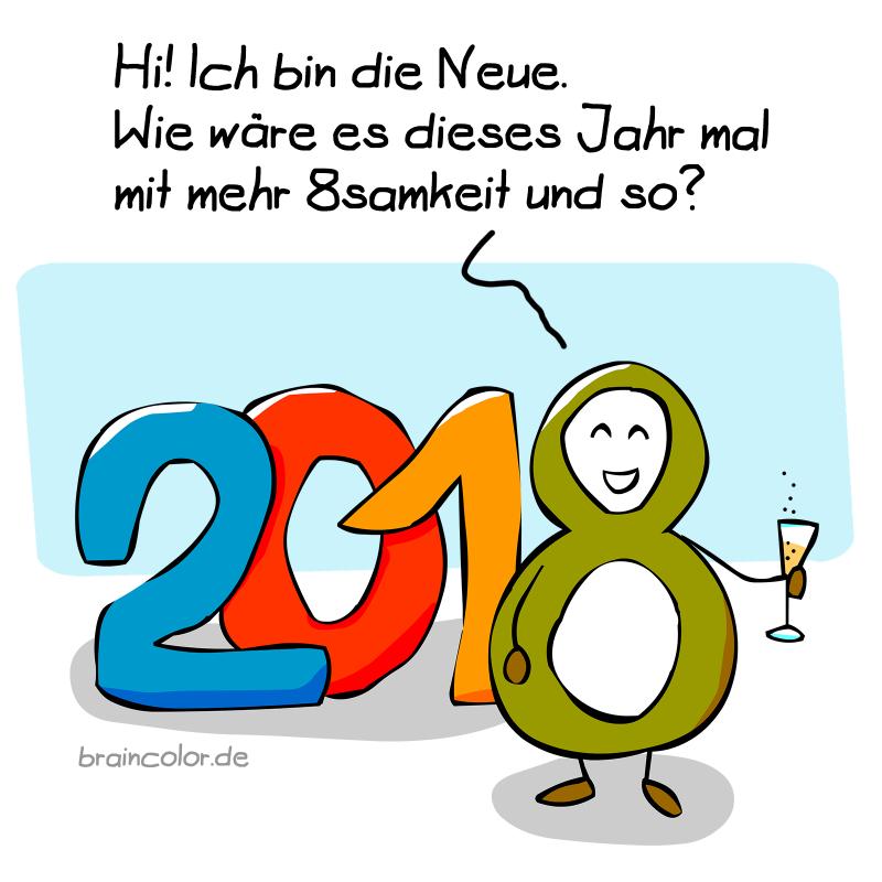 2018 – Frohes neues Jahr!
