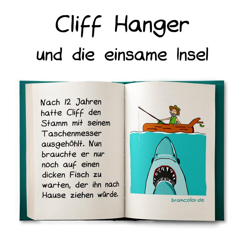 Cliff Hanger und die einsame Insel