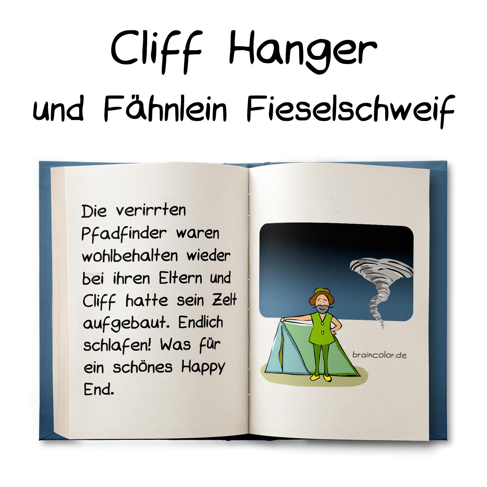 Cliff Hanger und Fähnlein Fieselschweif